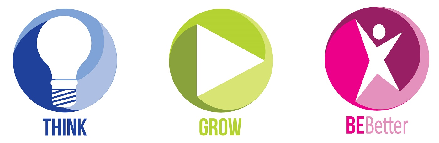 Think, Grow, Be Better logo