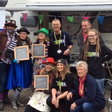 Diversity Champions at Worcestershire Pride 2017