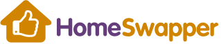 Home swapper logo and link to the website