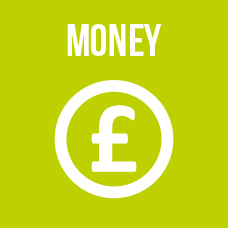 Link to money section including ways to pay, energy advice etc...
