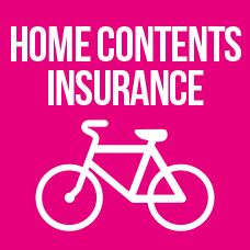 Home contens insurance link to page