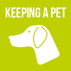 Link to information about keeping a pet