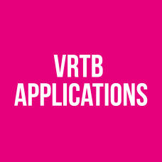 Link to application information about VRTB