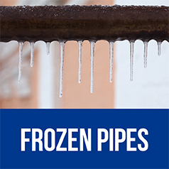 Link to frozen pipe information