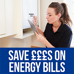 Link to saving money on your energy bills information
