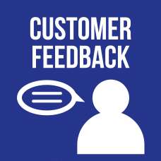 Link to customer feedback page