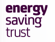 Energy Saving Trust logo and website link