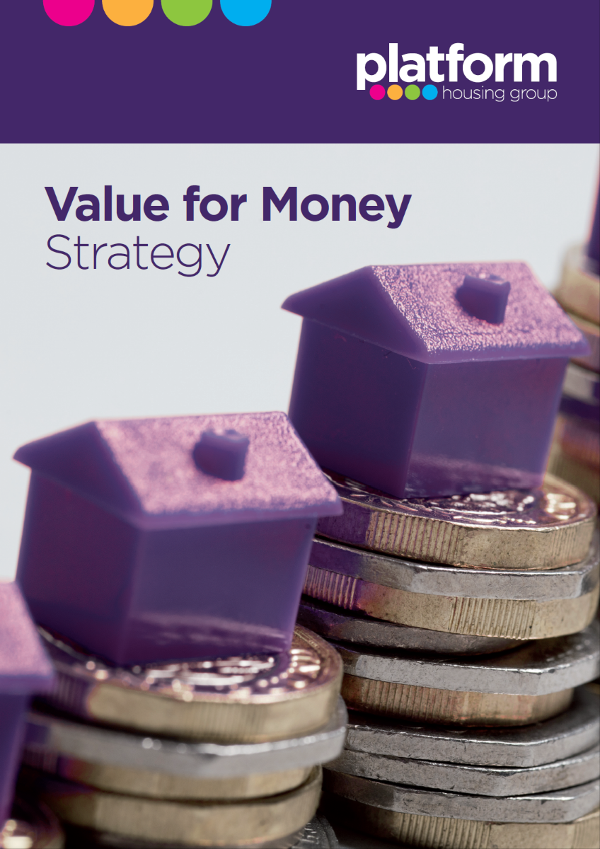 Download a copy of our Value for Money Strategy [pdf - 6MB]