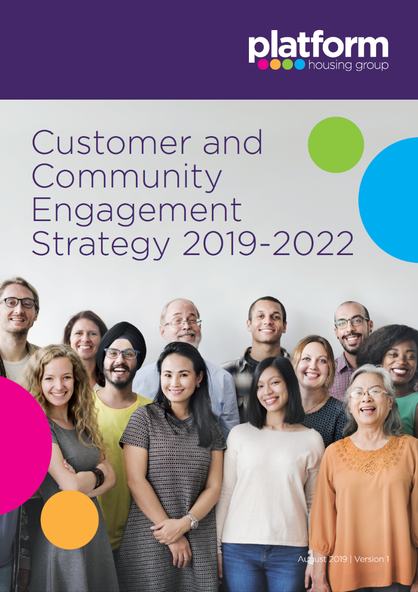 download a copy of our Customer and Community Engagement Strategy 2019-2022 [pdf] 8MB