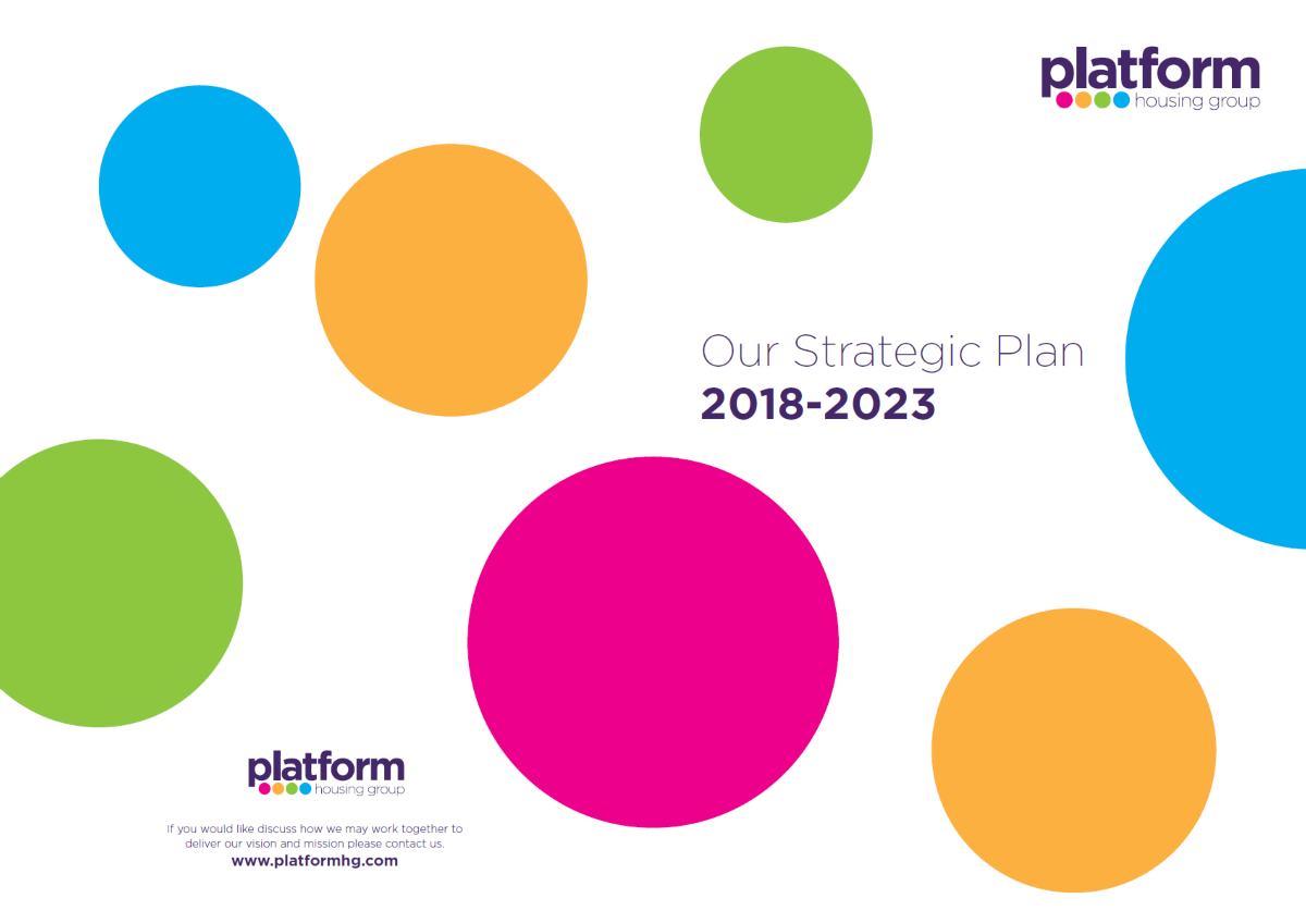 download a copy of Our Strategic Plan 2018-2023 - Platform Housing Group [pdf] 3MB