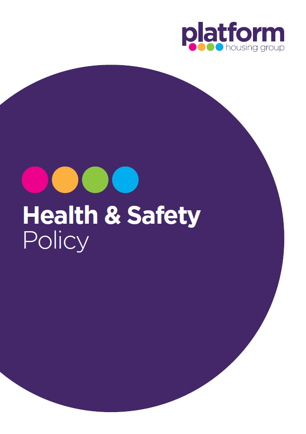 download a copy of our Health & Safety Policy [pdf] 95KB