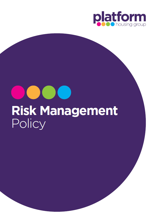 download a copy of our Risk Magement Policy [pdf] 102KB