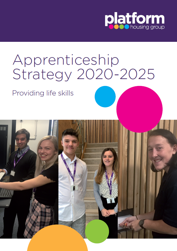 Download a copy of our Apprenticeship Strategy 2020-2025 [pdf] 14MB